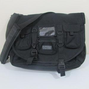 BlackHawk Black Laptop Shoulder Bag Briefcase